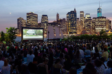 Brooklyn Bridge Park Conservancy will partner with Syfy to present Syfy Movies with a View for the free, outdoor film series, beginning July 10 on the Harborview Lawn at Pier 1.