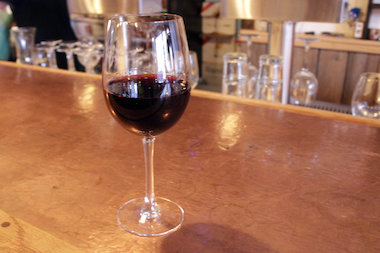 The Rock opened in the beginning of May and features a global menu and local wines.