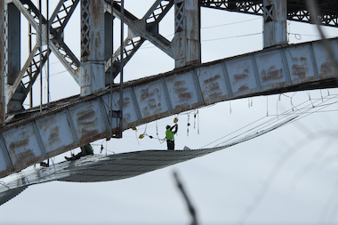 The High Bridge renovation is scheduled to be completed in December 2014.