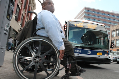 Transit advocates and riders applaud the launch of M60  Select Bus Service  set to begin on 125th Street later this month as a much-needed effort to address the ultra slow trek across Harlem's main thoroughfare to and from LaGuardia Airport. But some advocates for the disabled say the service will only make their lives more difficult.