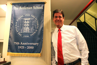 The intimacy of The Beekman School helps teachers focus on the needs of each student.