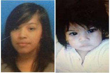 Leslie Ramales and her 1-year-old daughter, Jayleen Ojeda, returned home Tuesday, police said.