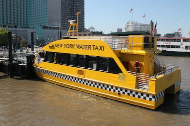 The new Water Taxi route will run from Pier 84 in Hudson River Park to Downtown's Brookfield Place.