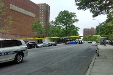 A man was gunned down near P.S. 112 Bronxwood on East 229th Street, police said.
