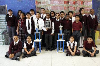 Sixteen students traveled to Dallas for the chess nationals, placing second.