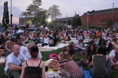 This summer's Red Hook Flicks, an outdoor film screening series, will kick-off on July 8 with Dazed & Confused at Valentino Pier.