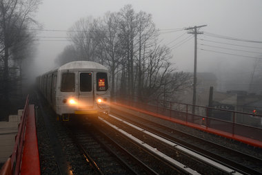 Service out of the Tottenville station was suspended after the accident, the MTA said.