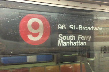The 9 train made a surprise trip downtown Thursday, 9 years after it was canceled by the MTA.