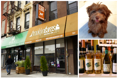 Brooklyn Cares Veterinary Hospital in Clinton Hill serves local beer and wine to customers.