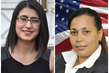 39th Assembly District Leader, Incumbent Jessica Ramos (left), is running without her party's support after they opted to instead back Yanna Henriquez (right) for the Queens Democratic seat.