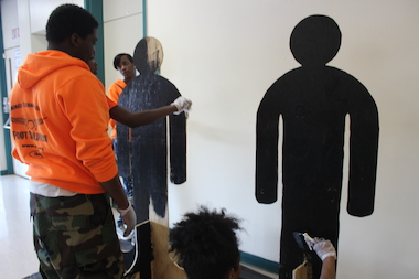 Supporters hope the cut-outs will keep the victims' memory alive, while also raising awareness.