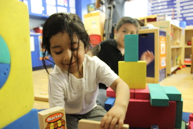 Schools Chancellor Carmen Fariña and City Council Speaker Melissa Mark-Viverito were at the Children's Aid Society in East Harlem Tuesday to let Spanish-speaking parents know that they have options when it comes to enrolling their children in pre-K.