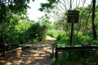 Many of the city's parks have trails where hikers can explore and connect with nature.