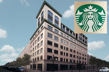 Starbucks said Wednesday it will open a new location in Crown Heights this fall at the new residential building at 341 Eastern Parkway.
