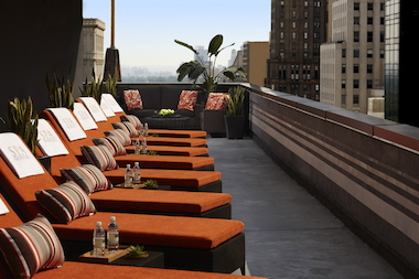 A handful of spas in the city offer access to outdoor spaces along with treatments or day passes.