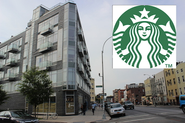 Williamsburg's first Starbucks will be at 405-409 Union Ave., a spokeswoman said.