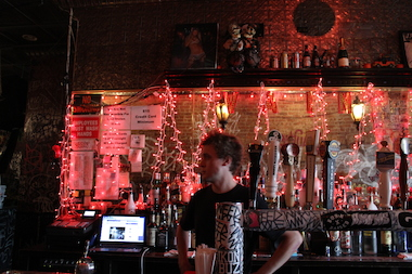Wreck Room, 940 Flushing Ave., will serve its last drinks Saturday.