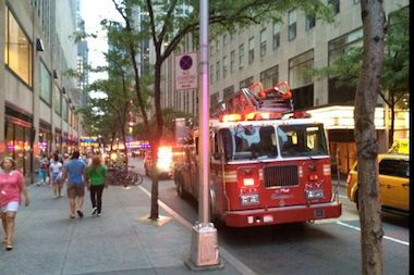 Six people, including a child, were injured in the Sunday night fire, FDNY officials said.