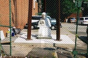 Catholic School Statue Pushed to Parking Lot as Charter Moves In
