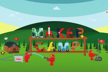 The third Maker Camp starts July 7.