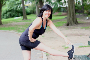 Rachel Lavin, a personal trainer, has been keeping New Yorkers healthy for eight years.