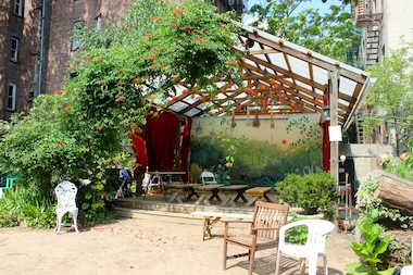 community gardens to host performances and eco friendly activities east village new york