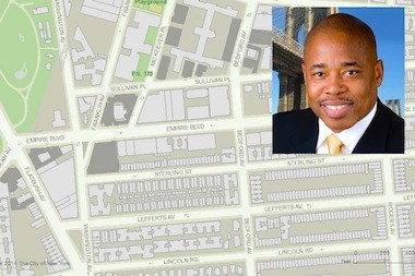 A forum hosted by Brooklyn Borough President Eric Adams on rezoning Empire Boulevard in Crown Heights is set for Friday evening, upsetting travelers and observant Jews in the neighborhood.