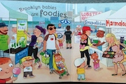 Brooklyn Baby Book Features Foodie Trip to Smorgasburg and Kale Jelly