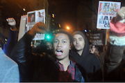 Protesters March from Union Square to Times Square After Ferguson Decision