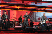 Bruce Springsteen Fronts U2 in Times Square for World Aids Day