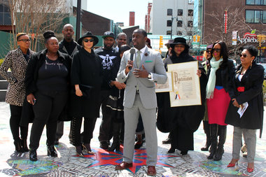 Business owners, fashion designers, and community leaders kicked off the start of the
