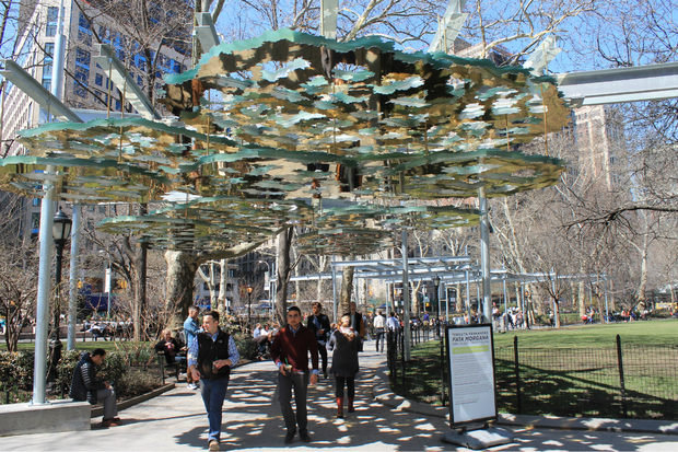Madison Square Park Sculptures Will Block Sunlight And