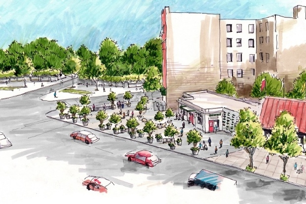 New Design For Parkside Plaza To Be Unveiled This Weekend Prospect Lefferts Gardens New York