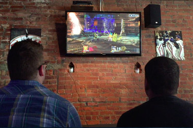 The Hamilton Heights sports bar hosted a video game tournament over the weekend.