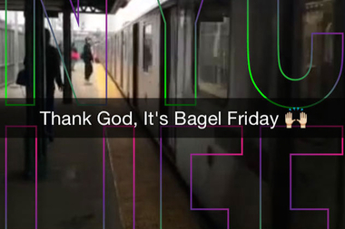 SnapChat's NYC Live presents lots of New York minutes.