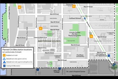 Citi Bikes Nyc Upper East Side Citi Bike Stations Planned for