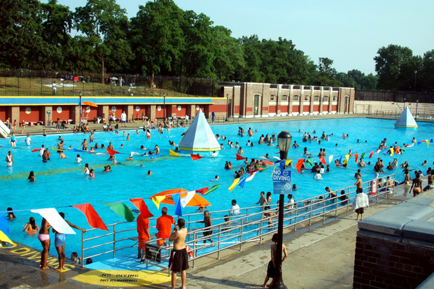 When Do Free Public Pools Open For The Summer In New York City Canarsie Dnainfo New York