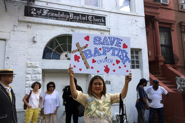 Block Association Fights to Save Harlem Church Slated for Demolition