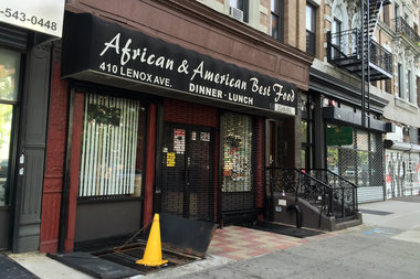 Health department shuts down ottomanelli 39 s and african for African cuisine nyc