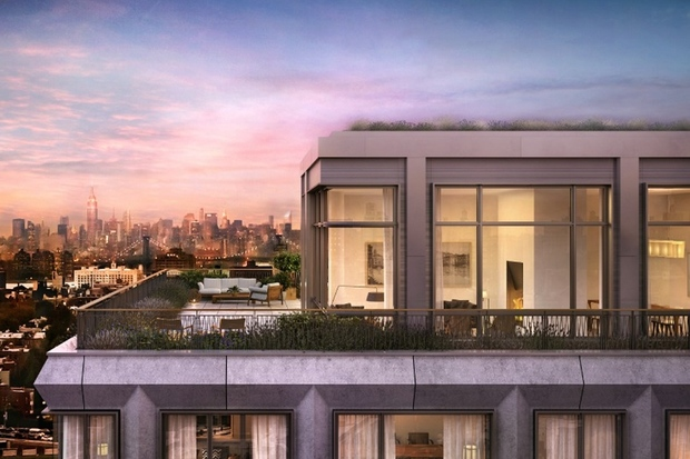 See it atlantic yards penthouse hits the market at 6 8m for Pacific park 550 vanderbilt