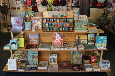 A selection of books curated by the Greenlight Bookstore in Fort Greene is now available in a pop-up shop at Prospect-Lefferts Gardens toy store Play Kids.
