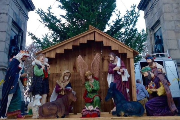 Grand Army Plaza Nativity Scene May Be First At Prospect