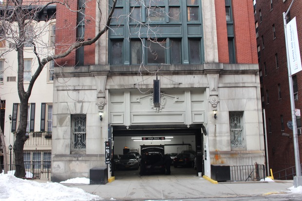 Historic ues garage formerly used by wealthy automobile for Nyc townhouse with garage