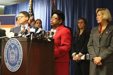 Bronx District Attorney Darcel Clark said she could prove Rosario's guilty  beyond a reasonable doubt.
