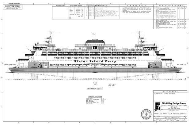 city seeks shipyards to build 3 new staten island ferry