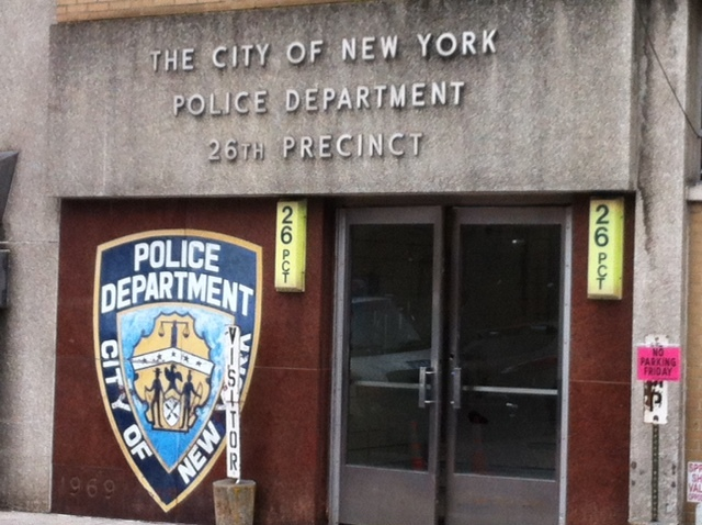 <p>The police officer arrested on Thursday October 25, 2012 for plotting to kidnap and eat women worked at the 26th Precinct in Manhattan.&nbsp;</p>