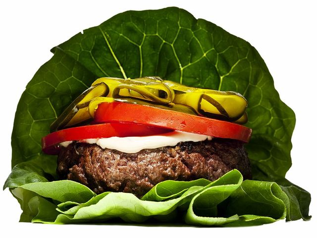 <p>5 Napkin Burger&#39;s inside-out burger.</p>
