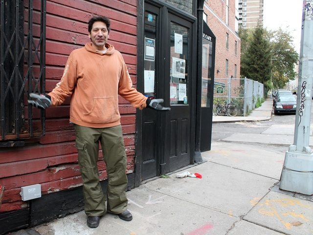 <p>Adam Weprin, whose family has owned The Bridge Cafe in the South Street Seaport for decades, says he&#39;s overwhelmed by the amount of cleanup required to fix damage caused by Hurricane Sandy.</p>