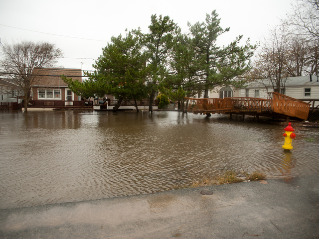 <p>Damage from Hurricane Sandy in Breezy Point Tuesday, Oct. 30, 2012.</p>