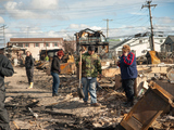 Sandy Victims Face Another Evacuation as Nor'easter Blows In